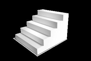 Спроектировали и разработали страницу лестниц для частных домов
